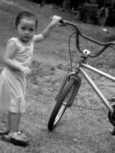 siapa cakap basikal tak bermanfaat lagi zaman sekarang