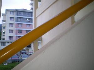 view tangga dari blk jeep n terebianse!